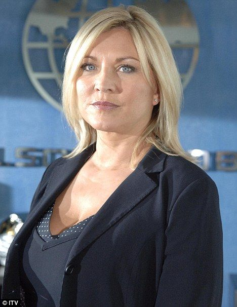 TV talent: Amanda Redman, pictured as Jackie in the ITV drama Vincent