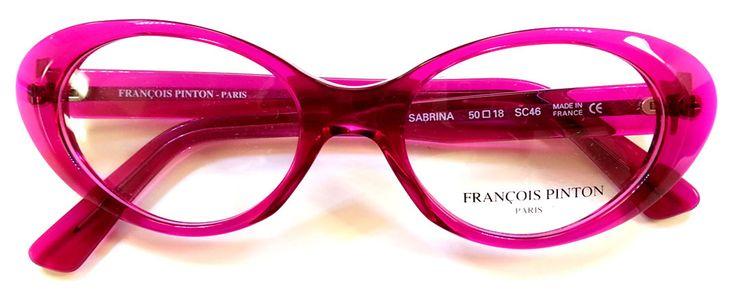 """#FrancoisPinton """"Sabrina"""" in #pink ... #eyeglasses #glasses #eyewear"""