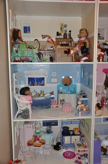 Ikea Pax Wardrobe. American Girl StorageAmerican Girl HouseAmerican Girl  DollhouseGirls DollhouseAmerican Girl StuffAmerican Girl ...