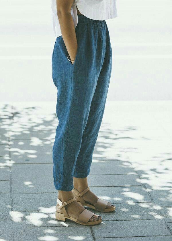 calça jeans leve e simples ❤
