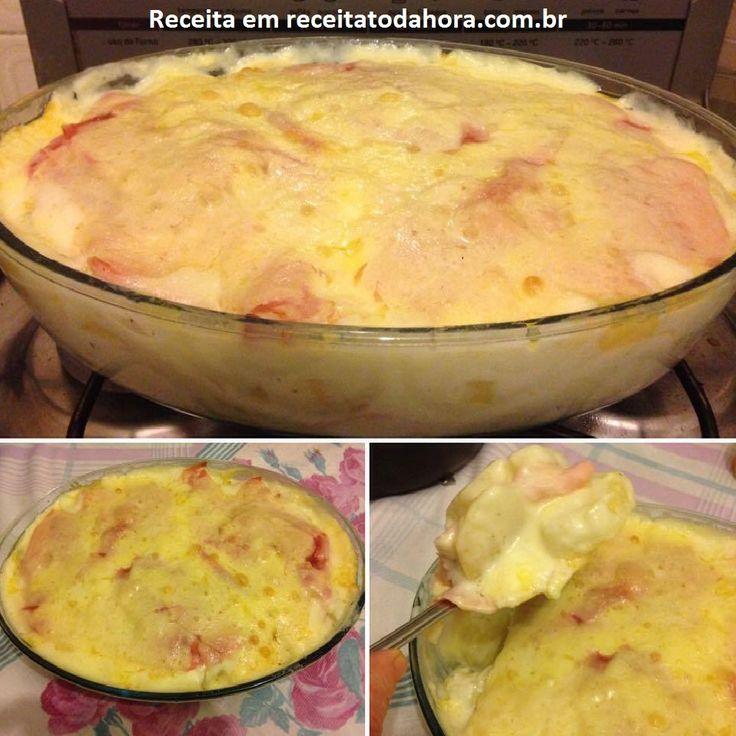 A Lasanha de Batata com Molho Branco é fácil de fazer e fica deliciosa. Faça…