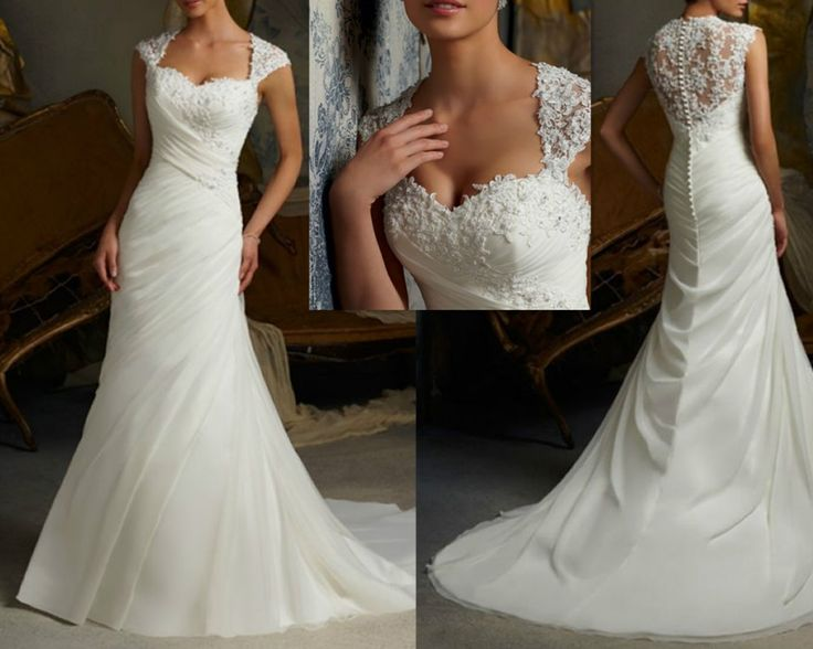 Find More Wedding Dresses Information about 2014 New Style Fashion Beading Applique White 2080 Organza White With Train Wedding Dresses OD20172,High Quality dress 2013,China chiffon lace wedding dresses Suppliers, Cheap dresses casual from Suzhou Mona Lisa (China) Wedding Dress Factory on Aliexpress.com