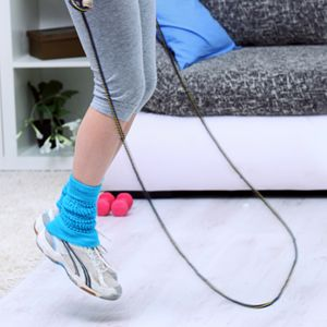 Calf muscle workouts and jump roping can target that and the ankle area and help you tone and trim. So get ready to lose your cankles for good with these calf exercises to turn flab into fab!