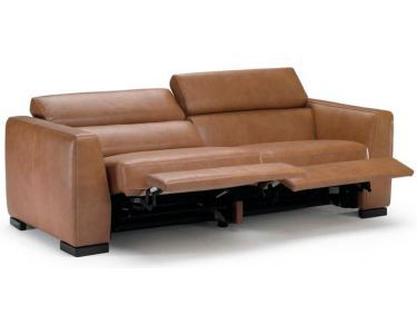 Modern Reclining Sofa With Adjule Headrests