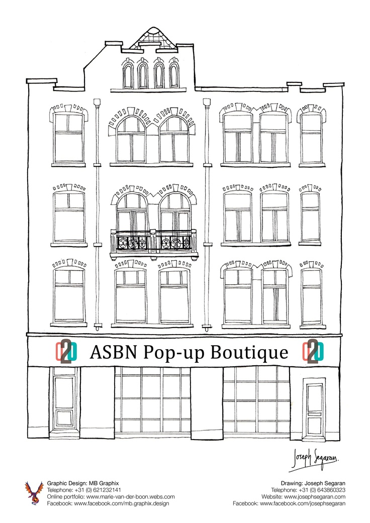 New Building Graphic for the ASBN Network. Building drawn by: Joseph Segaran.