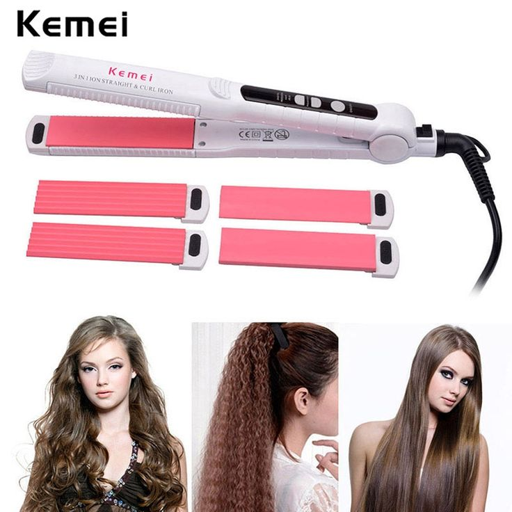 19.17$  Buy here - http://alizek.shopchina.info/go.php?t=32594533211 - Professional Ceramic Hair Curler + Corn Plate +Hair Straightener Flat Iron Hair Straightening Corrugated Iron Styling Tool A4546  #magazineonlinebeautiful