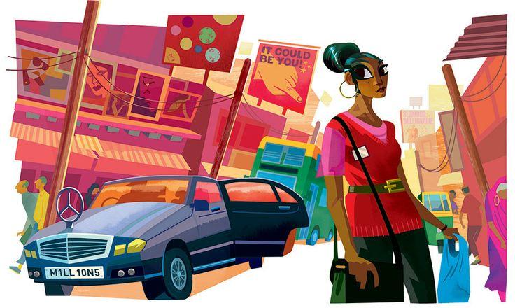Illustration by Rob Ball - Mendola Artists, Ltd.