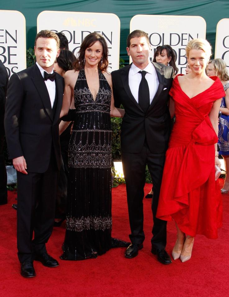 Sarah Wayne Callies And Jon Bernthal Andrew Lincoln, Sarah ...