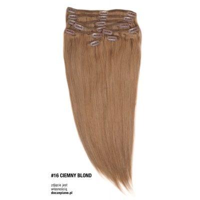 Naturalne włosy Clip In 45 cm 140 gram