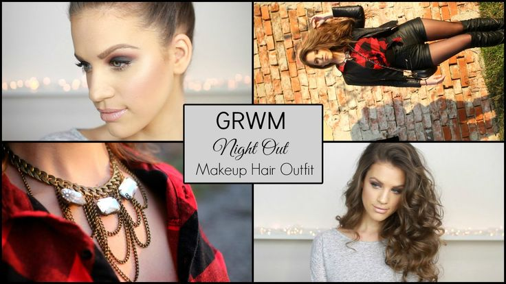 Get Ready With Me: NIGHT OUT │Makeup, Hair & Outfit....items available at www.famevogue.ro  #makeup #beauty #hair #fashion