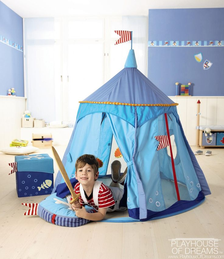 Haba Pirateu0027s Treasure Play Tent - Buy Online  sc 1 st  Pinterest & 167 best Fabric Playhouse images on Pinterest | Play tents Cowboys ...