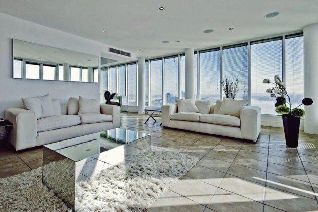 16 Raffinierte Weisse Wohnzimmer Designs Im Minimalistischen Stil