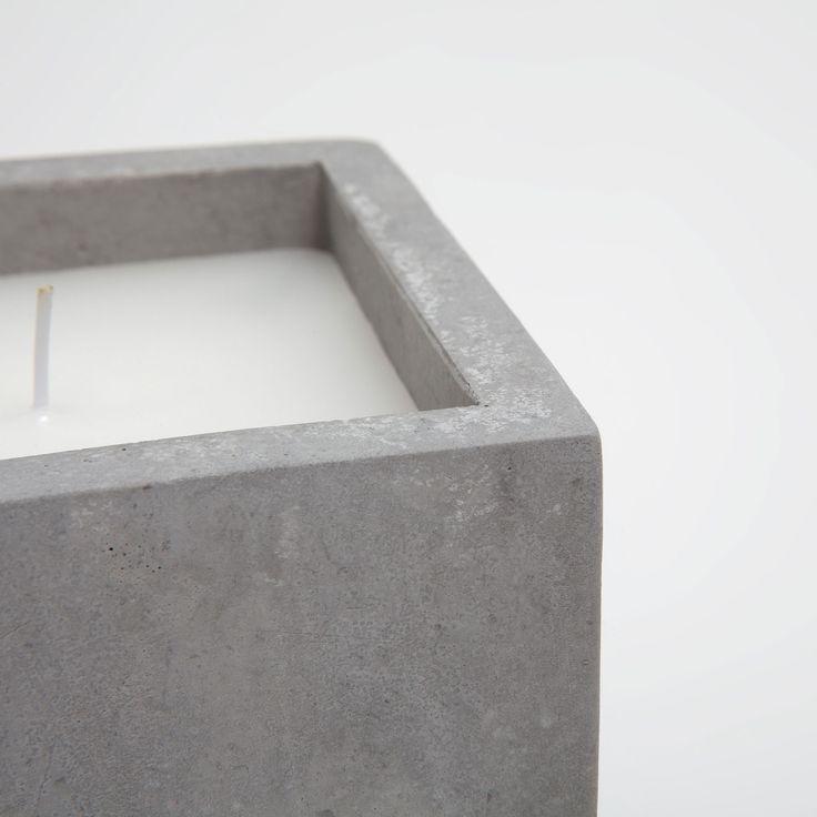 Immagine 3 del prodotto Candela cubo cemento