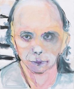 Marlene Dumas - Phil Spector Without Wig