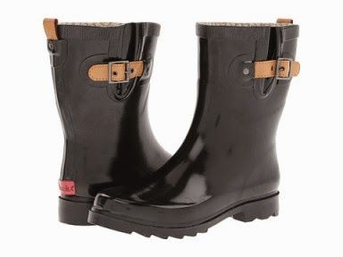 1000  images about Womens Wide Calf Rain Boots on Pinterest