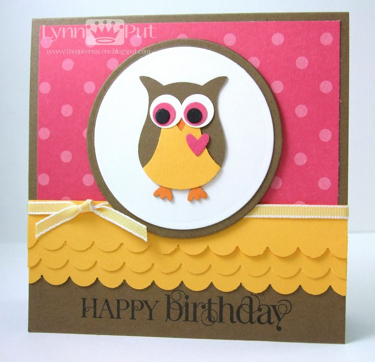Best Owl Card Ideas Images On Pinterest Owl Card Unity - Childrens birthday cards for the queen