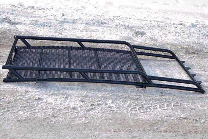 Jeep WJ custom roof rack