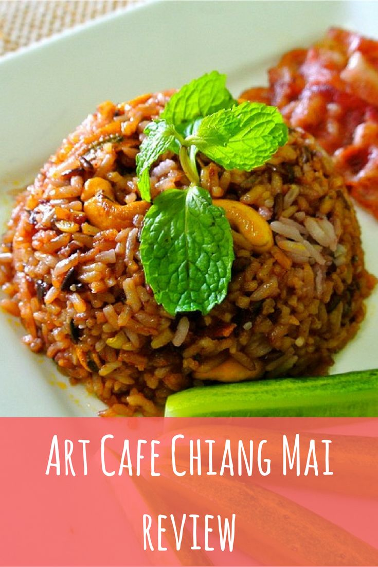 Art Cafe Chiang Mai | Chiang Mai eats | Chiang Mai food | Where to eat in Chiang Mai | Art Care | Chiang Mai Old City | Thailand | travel with kids | kids world travel guide | travel #travel
