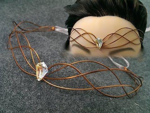 Sparkling crystal crown - vương miện pha lê lấp lánh - Handmade Jewelry Ideas 90 - YouTube