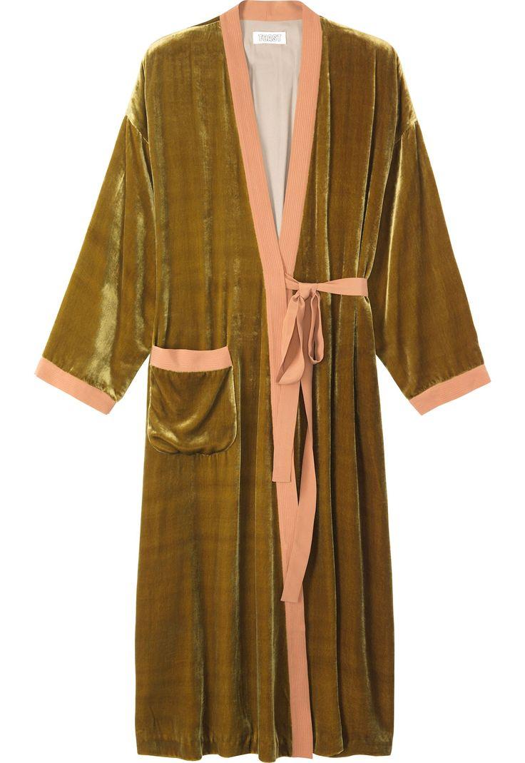 Stunning sumptous dressing gown