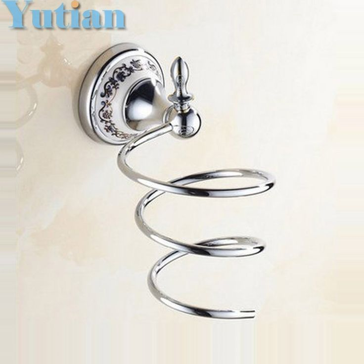 19.99$  Watch here - http://aliamu.shopchina.info/go.php?t=32660392983 - New Fashion Novelty Households Rack Hair Blow Dryer Holder Wall Hang  Shelf Innovative Items Bathroom Accessories Set YT-11899  #buymethat