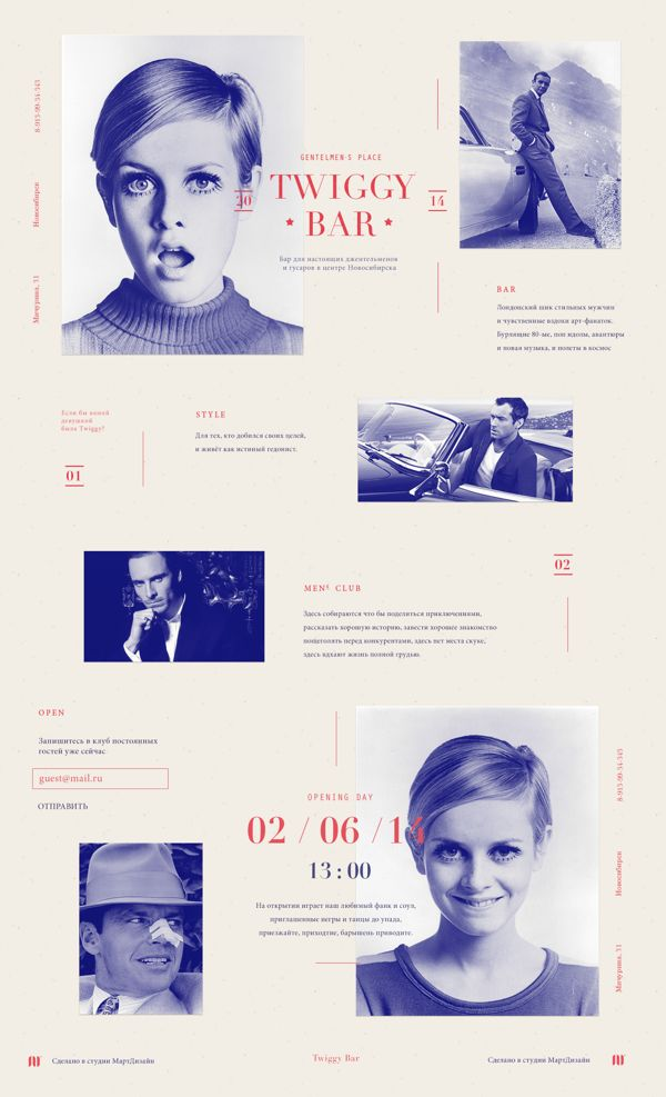 Twiggy Bar - alternative view by Maxim Logunov, via Behance