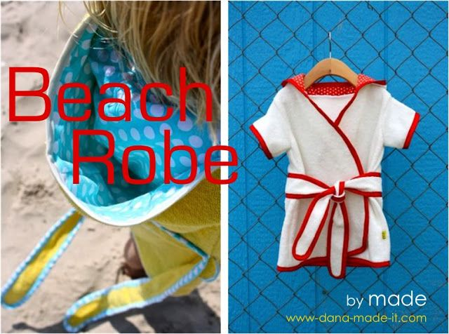 Beach Robe | MADE -  Now to find some cheap beach towels :)