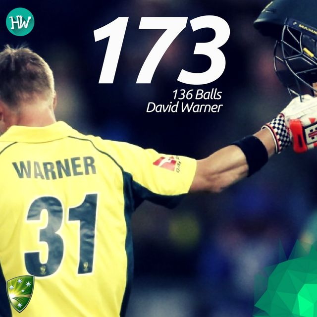 No one deserved the Man of the Match better than him. David Warner's gritty knock will be one to remember! #SAvAUS #SA #AUS #cricket