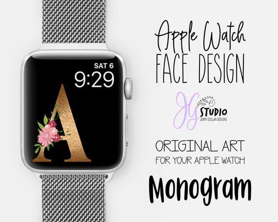 Apple Watch Face Wallpaper Monogram A Apple Watch Apple Watch Faces Apple Watch Fitness