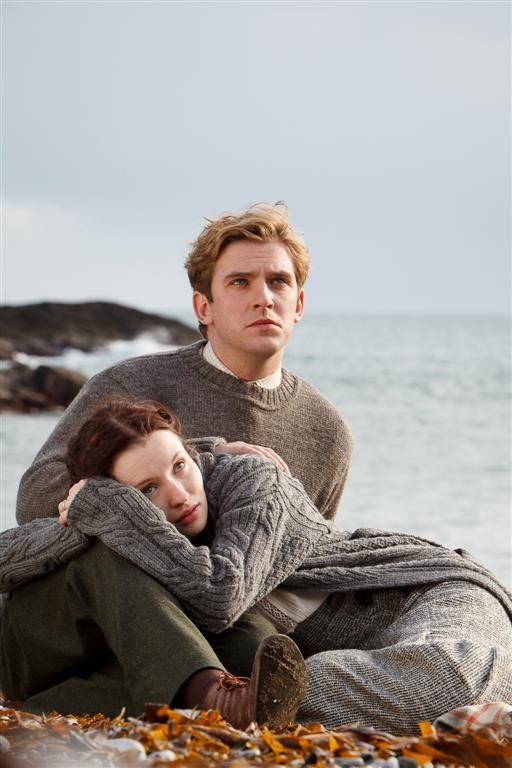 Dan Stevens and Emily Browning in Summer In February - so. much. gorgeousness.