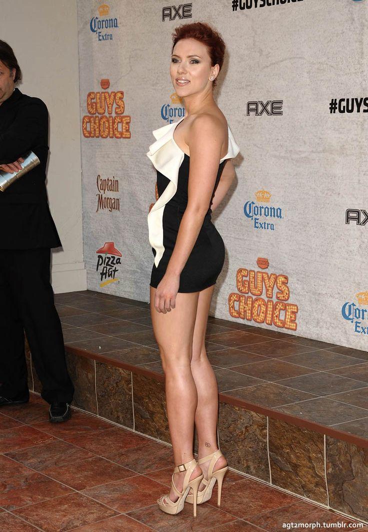 Scarlett Johansson's Miu Miu Dress and Boots on Jimmy ...