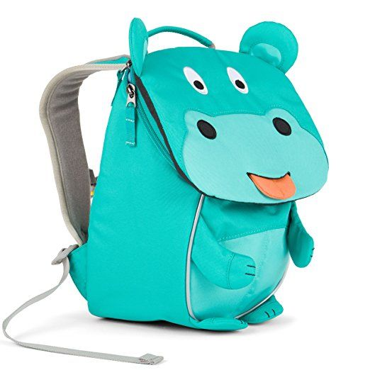 Affenzahn Kinderrucksack mit Brustgurt für 1-3 jährige Jungen und Mädchen im Kindergarten der kleine Freund Adrian - grau: Amazon.de: Koffer, Rucksäcke & Taschen