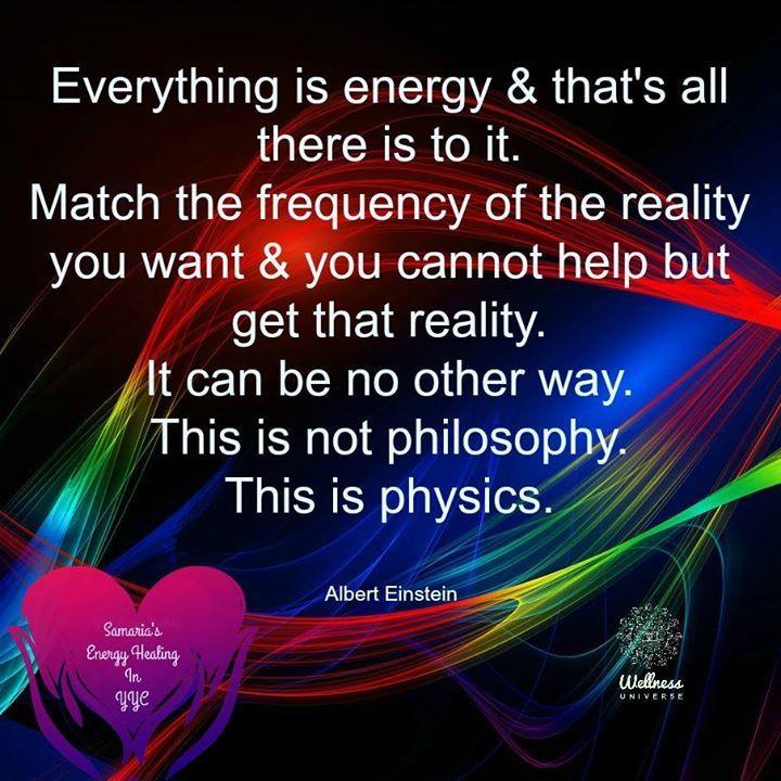 Quantum Physics Is Showing Amazing Work On Energy Everything Is Energy Energy Healing Holistic