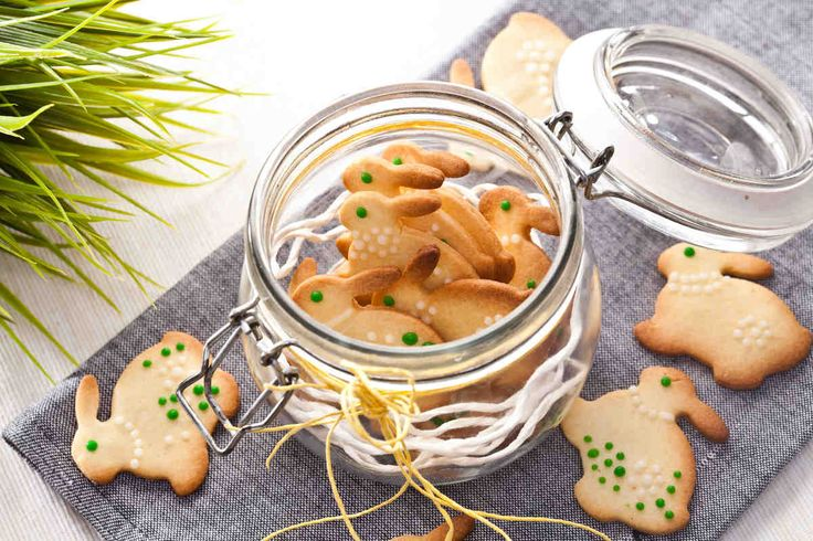 Słodkie zajączki. #ciastka #słodkie #deser #mniam #zajączki #smacznastrona #tesco #przepisy #przepis #wielkanoc #tradycja