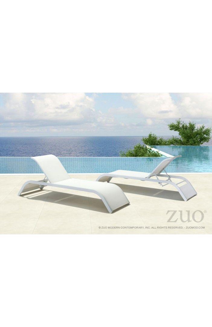 Zuo Sun Beach Chaise Lounge