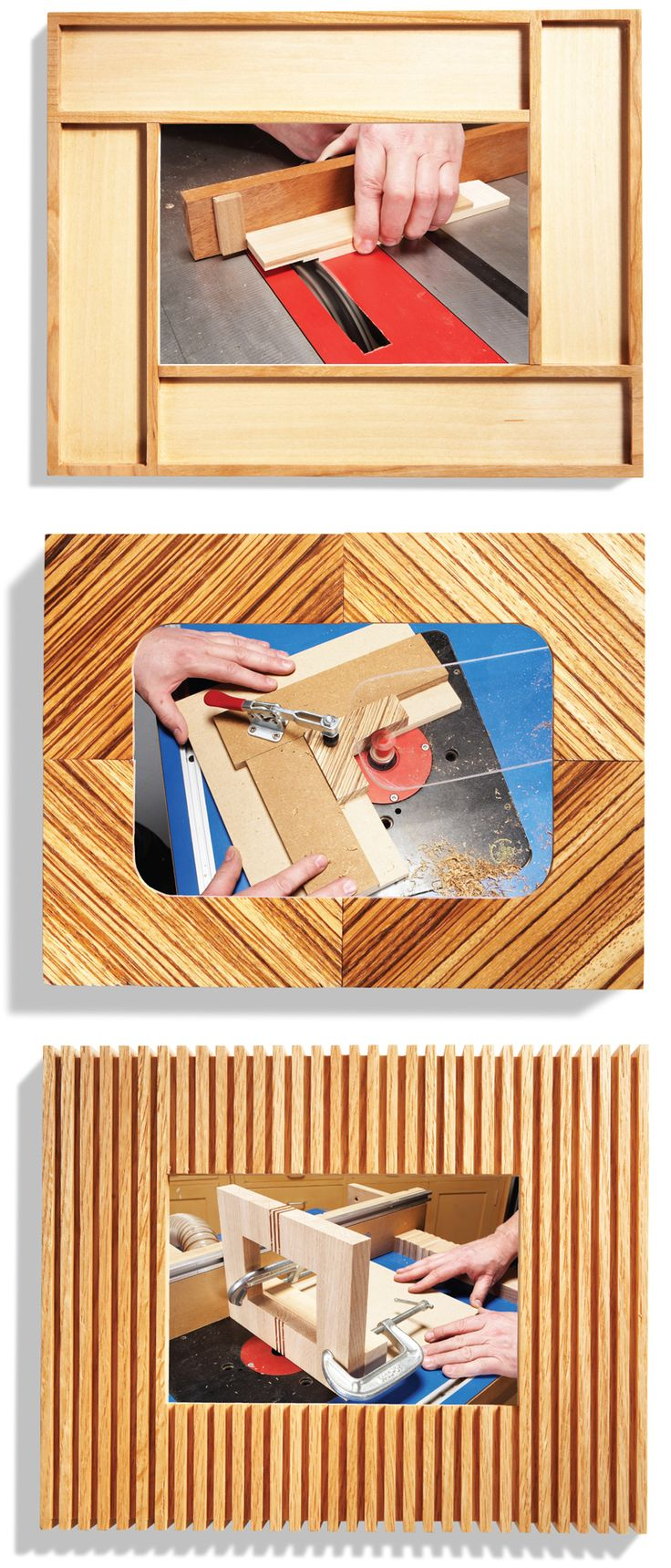 Miter-Free Picture Frames - Popular Woodworking Magazine