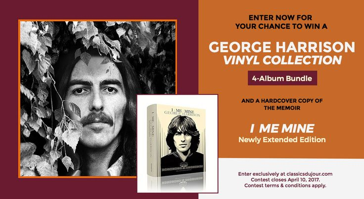 The Harrison family is proud to announce the release of George Harrison – The Vinyl Collection (UMe) box set featuring all of George Harrison's solo studio albums in one collection for the first time. The vinyl box set includes all twelve of George's studio albums with exact replicas of the original release track listing and …