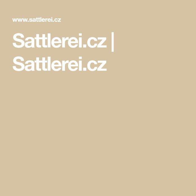 Sattlerei.cz | Sattlerei.cz