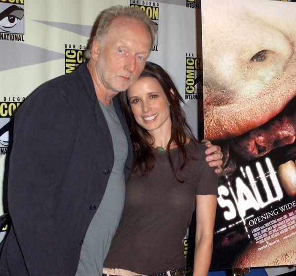 Tobin Bell & Shawnee Smith - 2006 Comic Con ... Jigsaw, John Kramer, Amanda Young, Saw