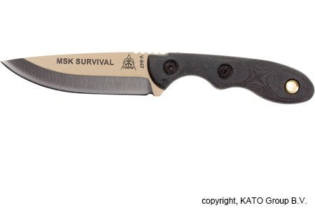 TOPS Knives Mini Scandi Survival mes, MSK-SURV