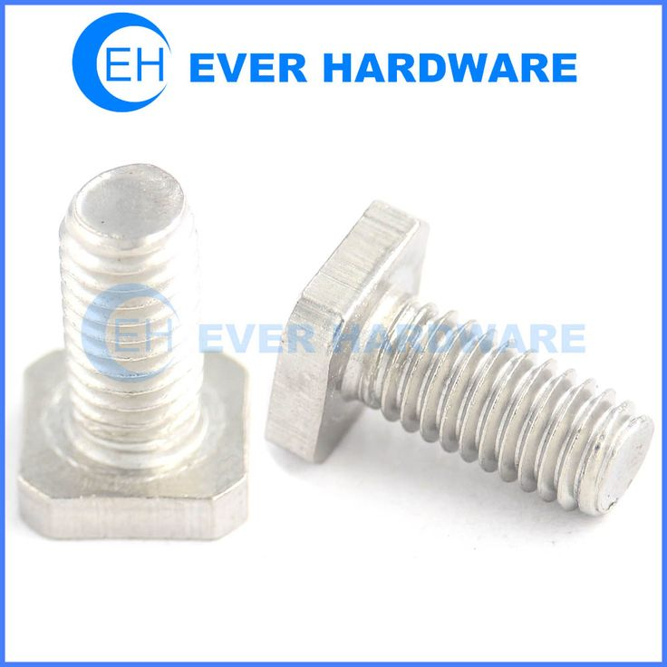 Replacement T bolts stainless steel passivation for channel roof racks custom