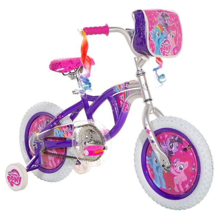 Girl's My Little Pony Bike - Purple/Silver (14)