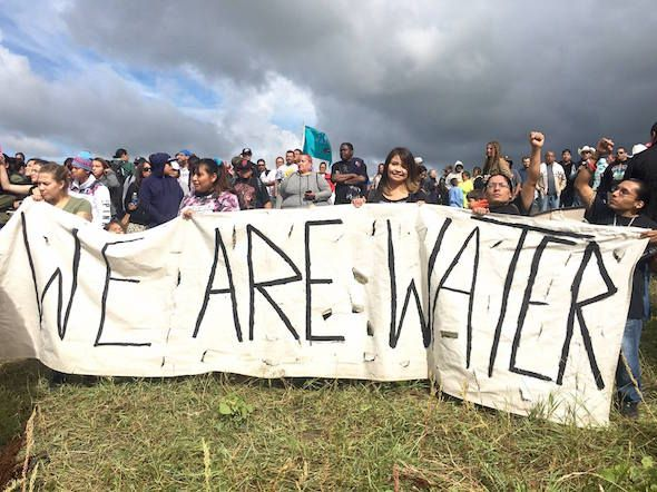 More than 1,000 Native American activists have traveled to Sacred Stone Spirit Camp in North Dakota to stop the construction of the Dakota Access pipeline. Now the fight continues in federal court in Washington, D.C.  - 2016/08/23