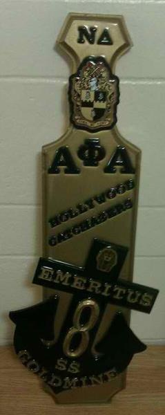 Alpha Phi Alpha Custom Paddle #alphaphialpha #greekpaddle