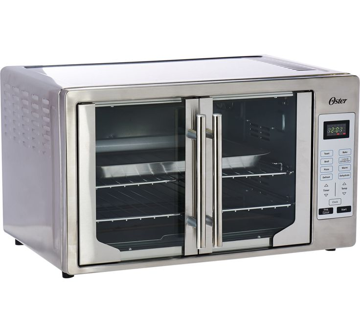Oster Xl Digital Countertop Oven W French Doors Qvc