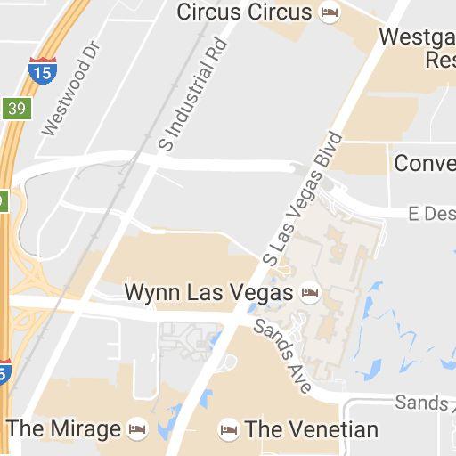 Map of Las Vegas Strip Hotels | Vegas.com
