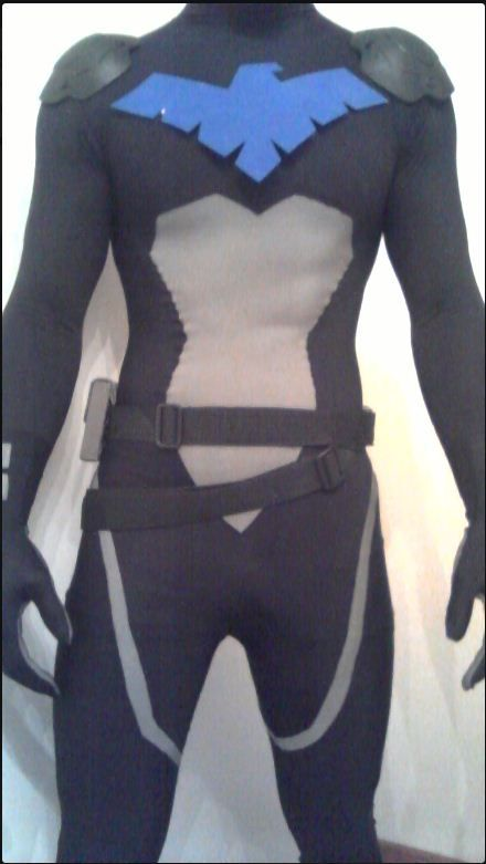 young justice nightwing costume - Google Search