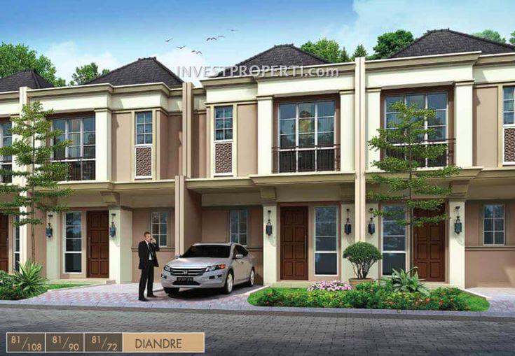 Rumah cluster Alegria Park BSD City
