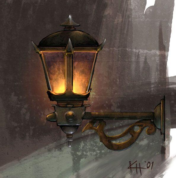 Soul Reaver 2 environment concept art