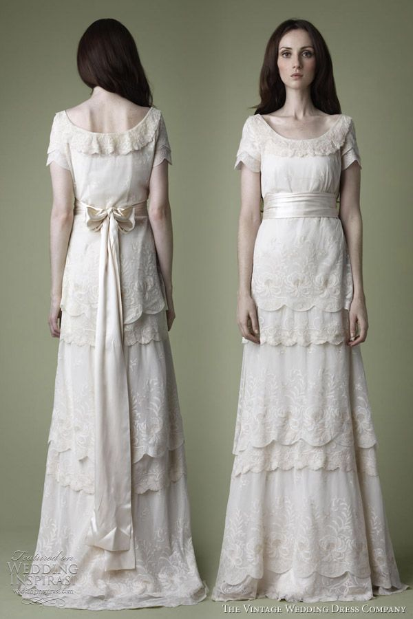 25 best Wedding dress patterns vintage images on Pinterest ...